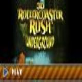 Dwonload 3D Roller Coaster Rush Underground Cell Phone Game