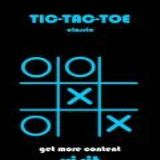 Dwonload TicTacToe Blue Cell Phone Game