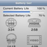 Download Battery Go! Cell Phone Software