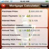 Download Mortgage Calculator Professional Cell Phone Software