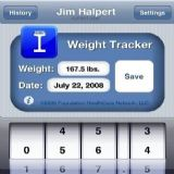 Download Weight Tracker Cell Phone Software