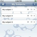 Download iFlashcards Cell Phone Software