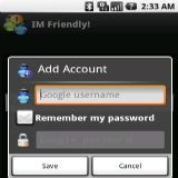 Download IM Friendly! Cell Phone Software