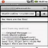 Download MailDroid Pro Cell Phone Software