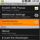 Download SMS Popup Cell Phone Software