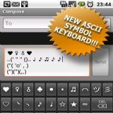 Download SymbolsKeyboard  TextArt Pro Cell Phone Software