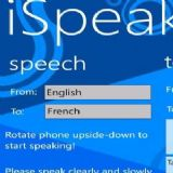 Download iSpeak Cell Phone Software