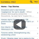 Download Canadian News Addict Cell Phone Software