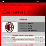 Download ClubSPORTS Milan Cell Phone Software