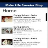Download Make Life Sweeter Blog Cell Phone Software