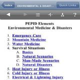 Download PEPID Elements Environmental Medicine  Disasters Cell Phone Software