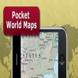 Download Pocket World Maps Cell Phone Software