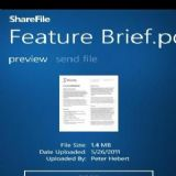 Download ShareFile Cell Phone Software