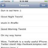 Download TwitKwik Cell Phone Software