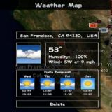 Download Weather Map Cell Phone Software