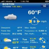 Download Weather Pro Cell Phone Software