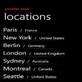 Download WeatherDuck Cell Phone Software