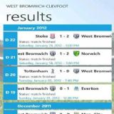 Download West Bromwich ClevFoot Cell Phone Software