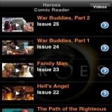 Download Heroes Comic Reader Cell Phone Software