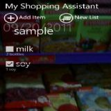 Download My Shopping Assistant Cell Phone Software